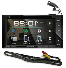"""Kenwood DDX26BT 6.2"""" Car DVD Monitor Bluetooth Receiver w/ U"""