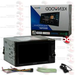 Kenwood DDX373BT Double Din Monitor In-Dash Bluetooth DVD Re