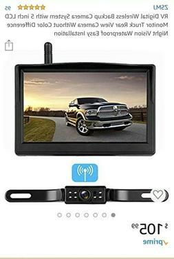 Digital Wireless Backup Camera for RV/Trucks/Trailer/Camper