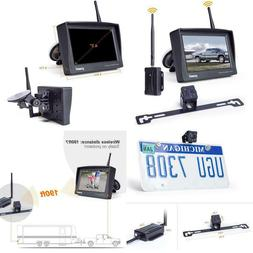 Digital Wireless Backup Camera Kit, 4.3'' Lcd Monitor +