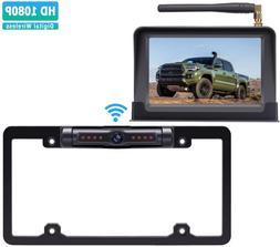Digital Wireless Backup Camera Kit HD 1080P Reverse Camera K