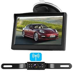 LeeKooLuu Digital Wireless Backup Camera System for with 5''