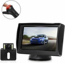 Digital Wireless System 4.3'' LCD Car Monitor + Rear View Ba