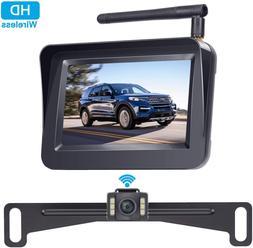 DoHonest Wireless Backup Camera and 4.3'' Monitor Kit, HD Co