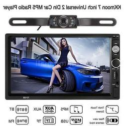 "7"" 2 DIN Car MP5 Player Bluetooth Touch Screen Stereo Radio"