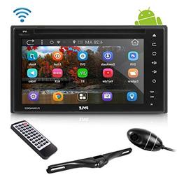 "Double Din Car Receiver System - 6"" Touchscreen Android St"