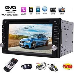 """EinCar 6.2"""" Double DIN Car Stereo GPS Navigation Car Radio H"""