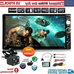 2 Din Head Unit w/ Backup Camera Touch Screen w/ Mirror Link