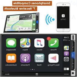 "DUAL DMCPA70 7"" LCD Multimedia Receiver Bluetooth Apple CarP"