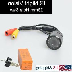 E-KYLIN Car Auto Flush Mount Housing Backup Camera Waterproo