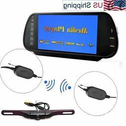 E-Kylin Car 7 inch HD Rear View Mirror Monitor , FM Transmit