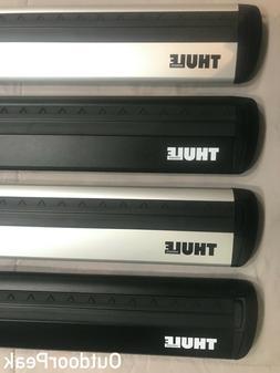 Thule Evo WingBar + Thule Foot Pack + Thule One-Key System
