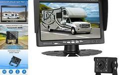 LeeKooLuu HD 720P Backup Camera Kit for Cars/Pickups/Trailer