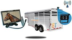 Tadibrothers 7 Inch Horse Trailer Monitor with Wireless Moun