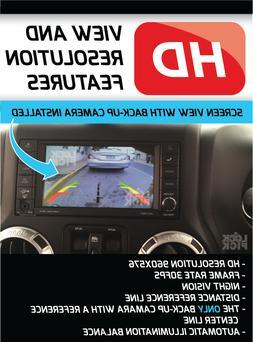 Jeep wrangler backup camera lockpick + 4 camera inputs +Vide