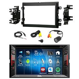 JVC KW-V140BT Double DIN BT Car Stereo Receiver w/Touchscree