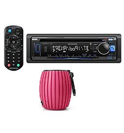 Kenwood KDC-MP372BT Car Single DIN In-Dash CD MP3 Stereo Rec