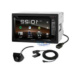 Kenwood DVD USB Sirius Bluetooth Stereo Receiver with Rear V