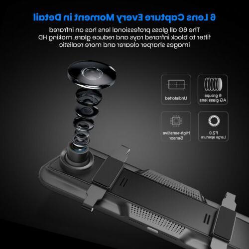 "10"" Junsun FHD 1080P Car Dash Backup"