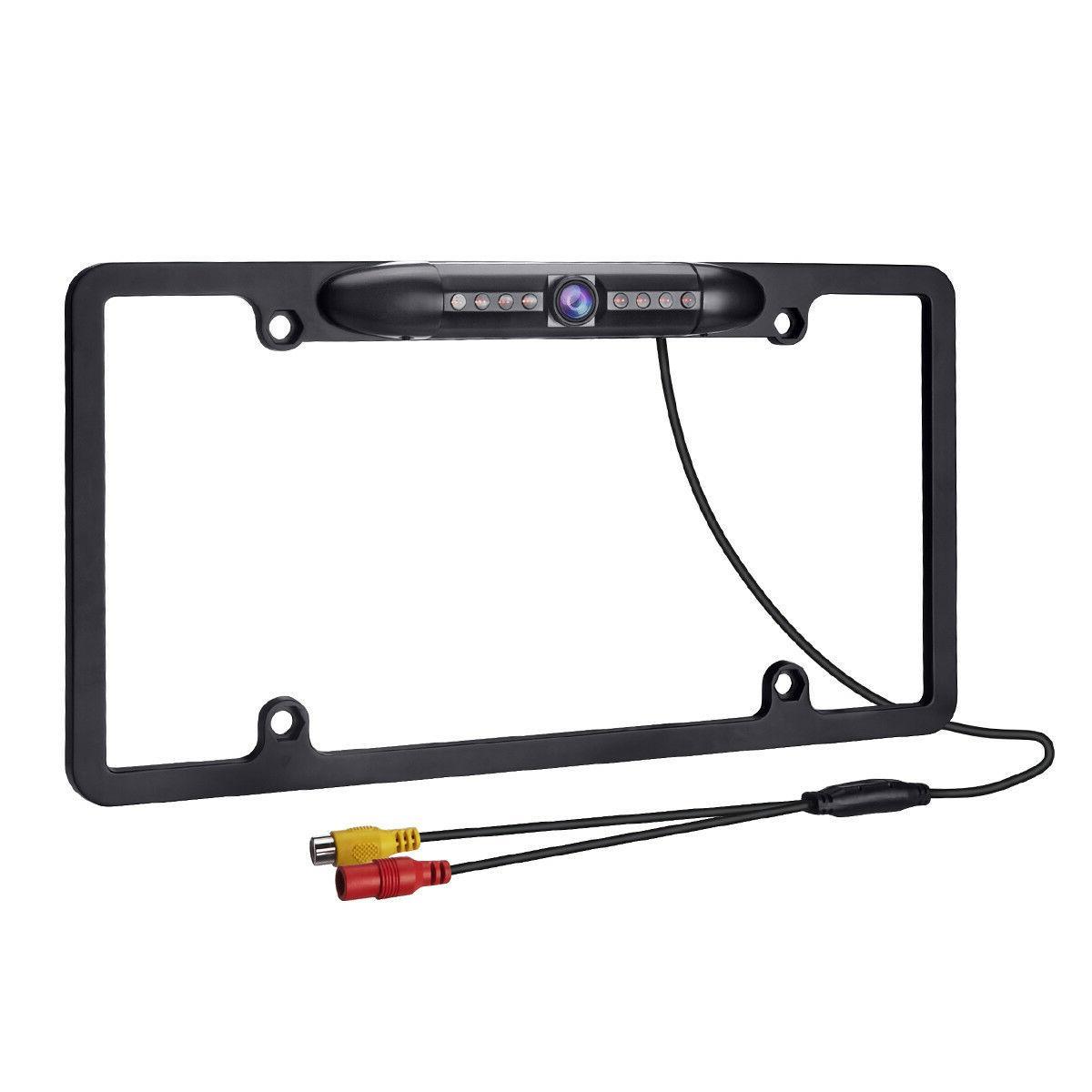 12V Car Backup Camera Night Plate