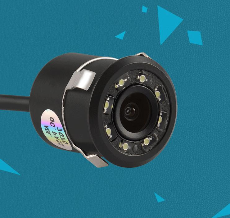 170° Rear View Camera 8 Waterproof