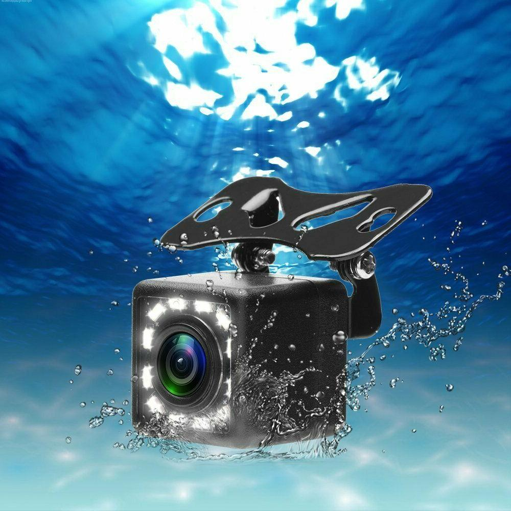170° HD Rear View Camera 12 Waterproof Night Vision