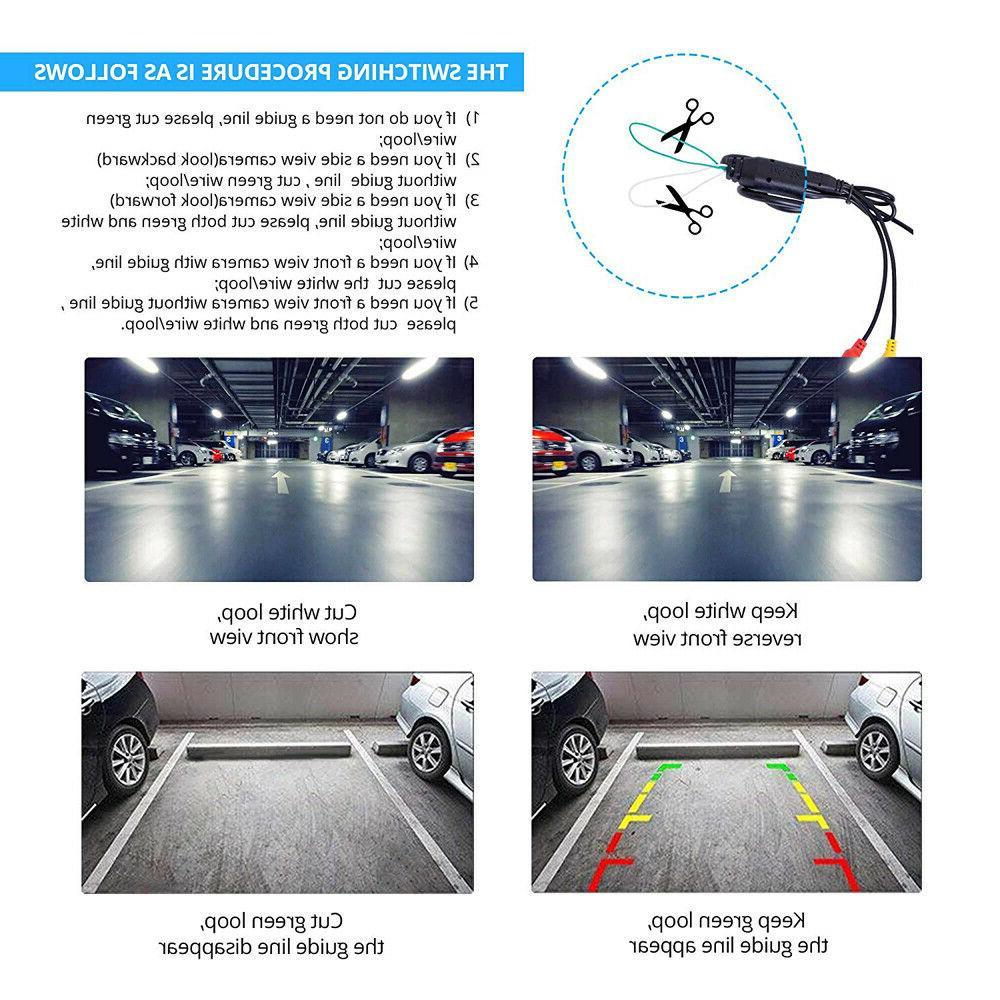 Waterproof Car Backup Camera Night Vision HD 170 Vehicle