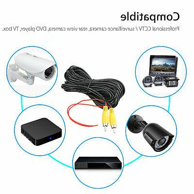 32ft Video Extension Cable Wire for Auto Rearview