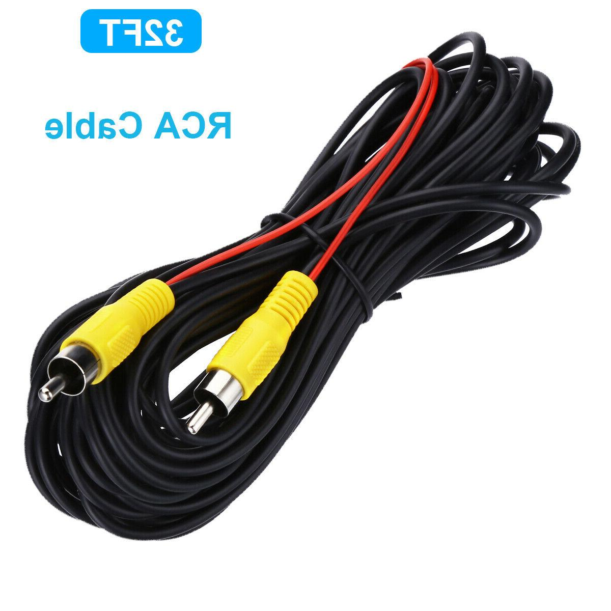32ft car video rca extension cable detection