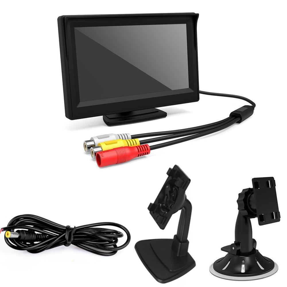 """Car Camera Rear w/ Night Vision+5"""" LCD Monitor"""