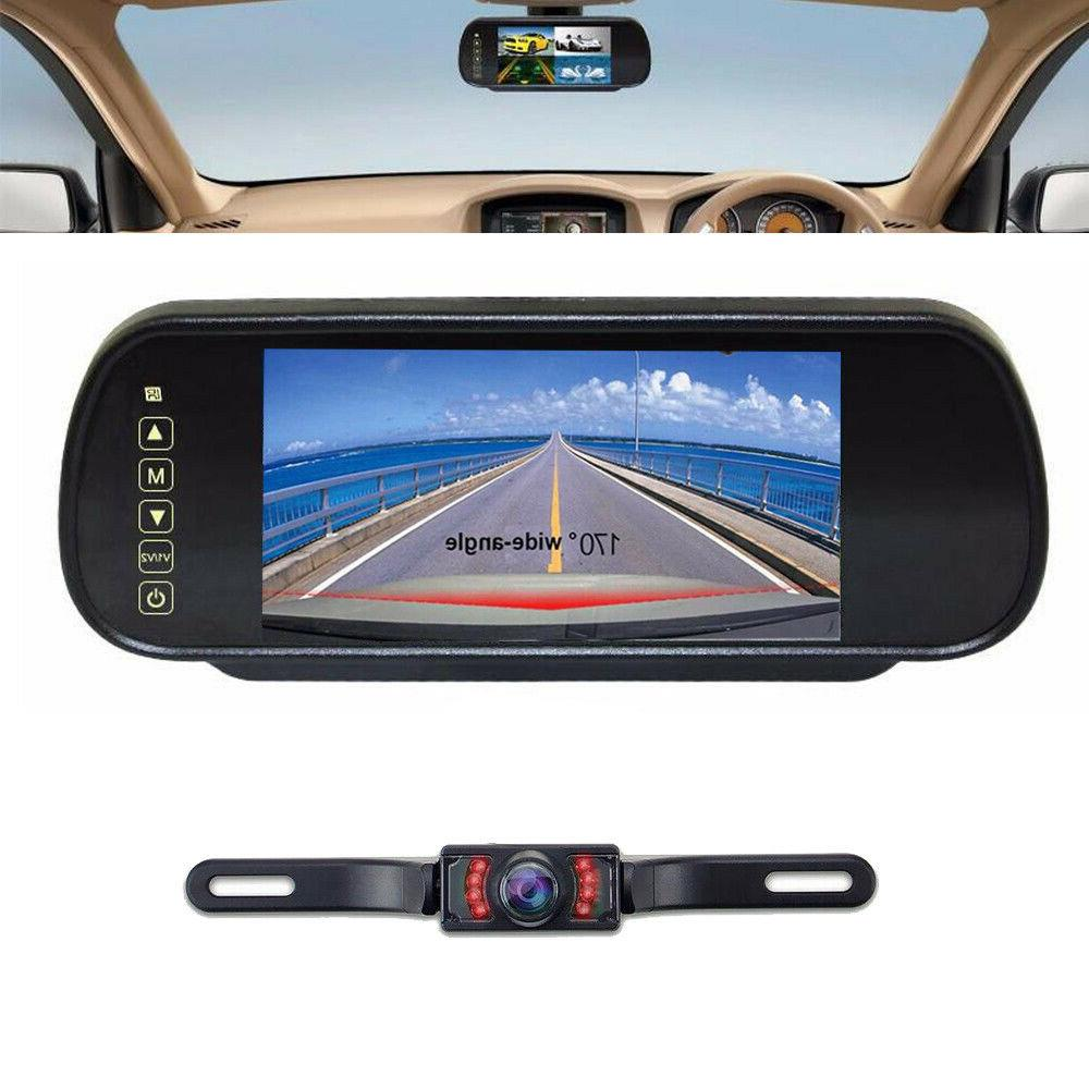 7 car lcd screen rear view backup