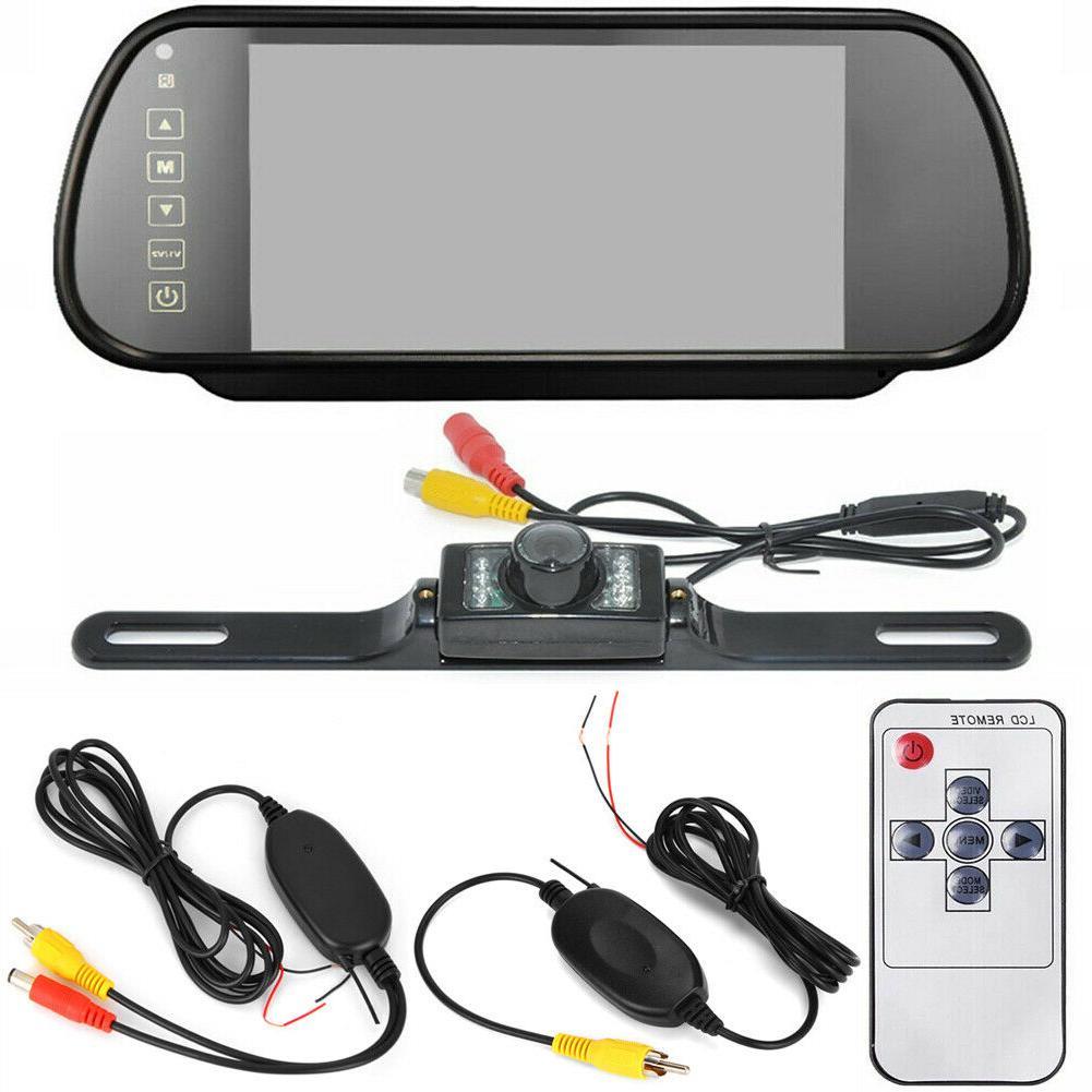 7'' Car Backup Mirror Monitor