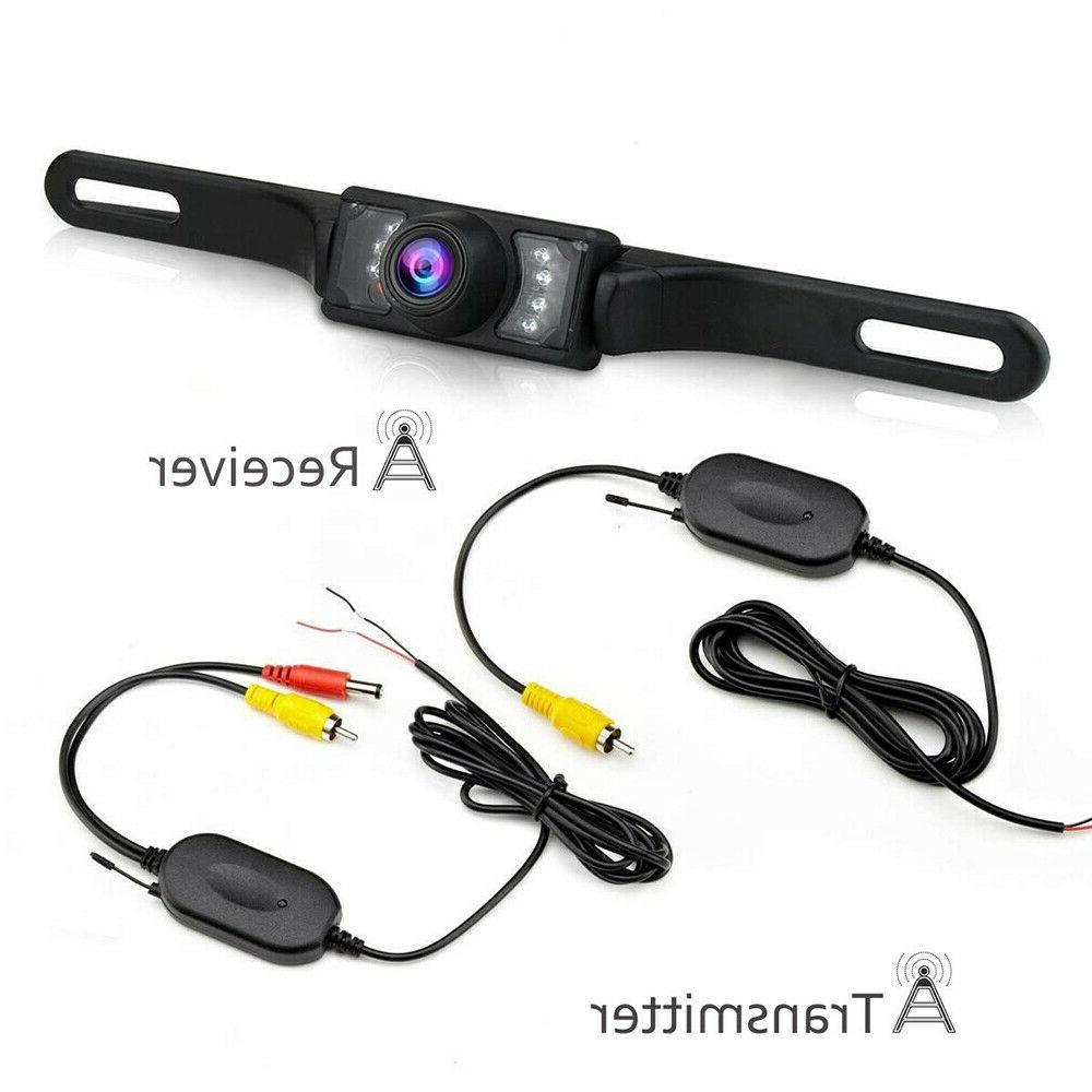 7'' Backup +Wireless Reverse LED System
