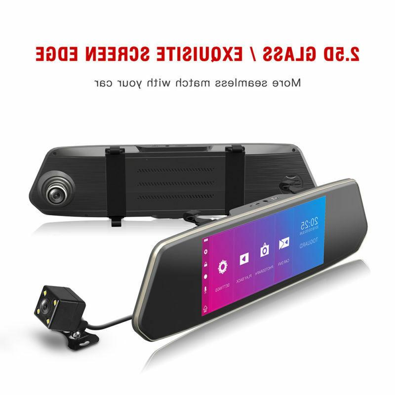 TOGUARD Dual Dash HD Car Rear Mirror US