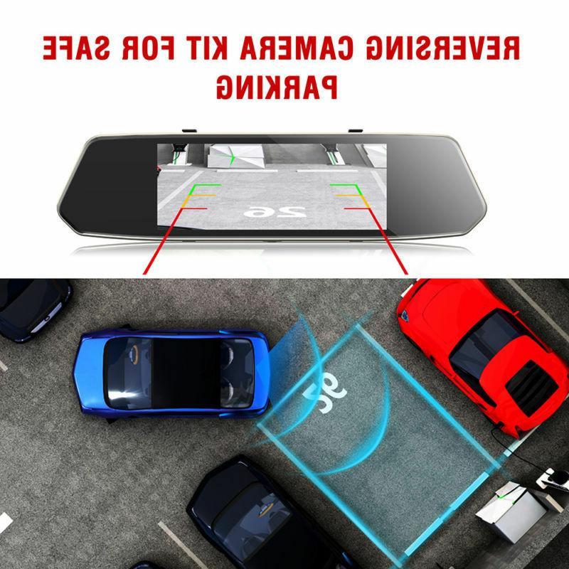Dash Cam HD 1080P Car View Mirror Camera