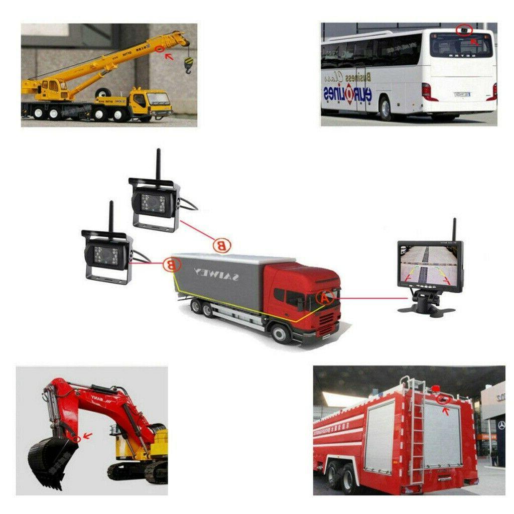 "7"" Rear Night Vision for RV Truck HD"