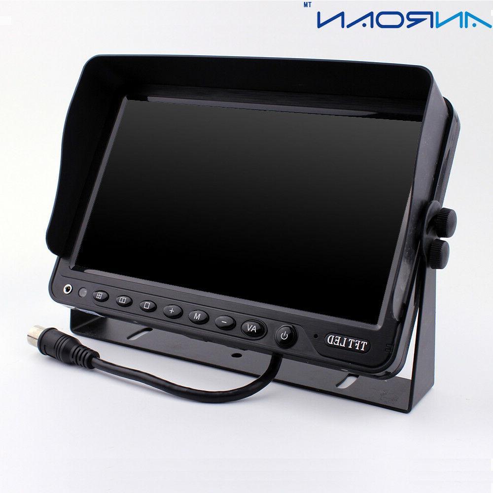 "9"" Monitor Car Camera System Side Camera Vehicle monitor System"