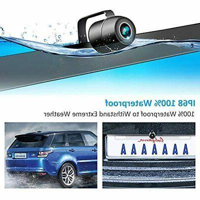 Backup Camera Car, Waterproof Plate Vehicle Cameras,