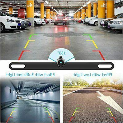 Backup Plate Vehicle Cameras,