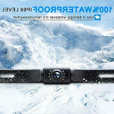 eRapta Camera with 4.3 inch License Up Camera