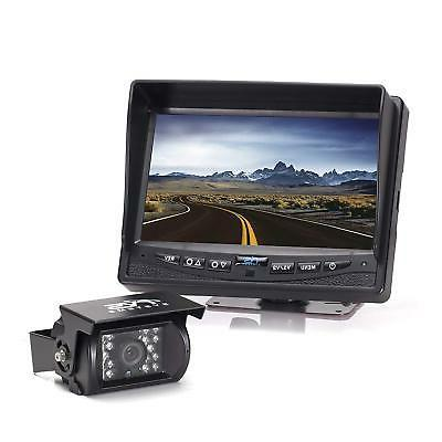 """Rear View Safety Backup Camera System with 7"""" Display Black"""
