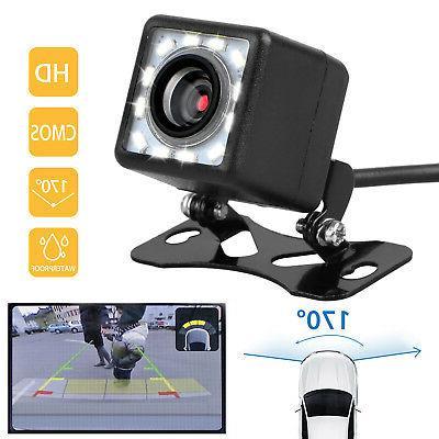 Car Rear View Camera Up CMOS 12LED