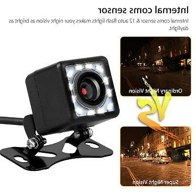Car View Backup Camera Reverse Up Camera CMOS 12LED