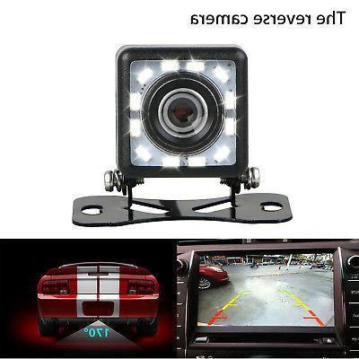 Car View Camera Parking Back Up Camera CMOS 12LED