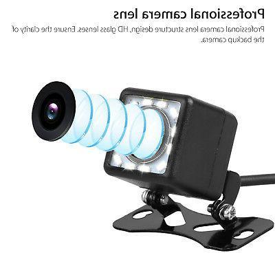 Car View Backup Camera Parking Back Up Camera Waterproof 12LED