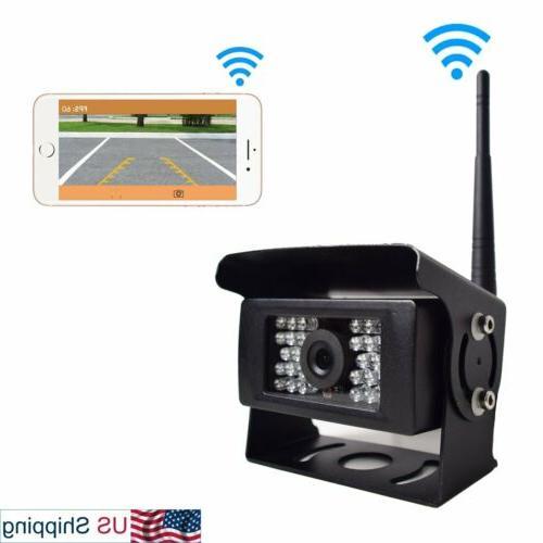 digital wireless backup camera for truck trailer