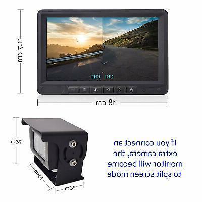 "Digital Wireless System Kit 7"" LCD Monitor"