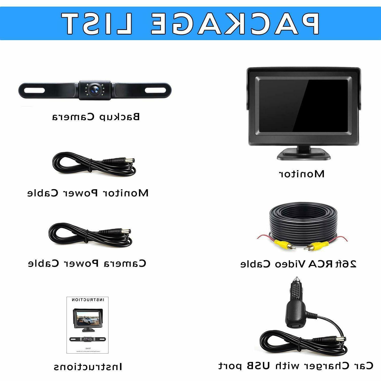 eRapta Car HD Parking Monitor