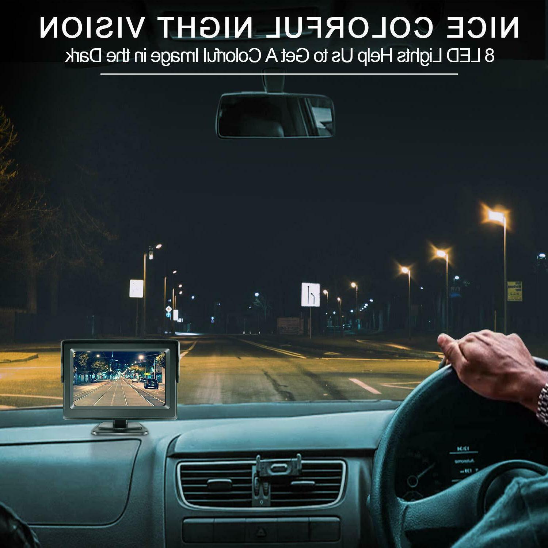 eRapta Backup Car Parking Night Monitor