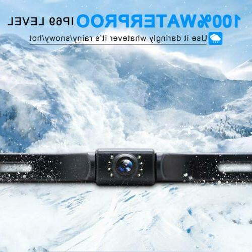 eRapta Backup Camera System Car Rear HD Parking Night